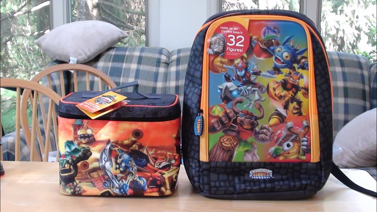 Skylanders Giants - Backpack and Lunchbox - Back to School Kids ...