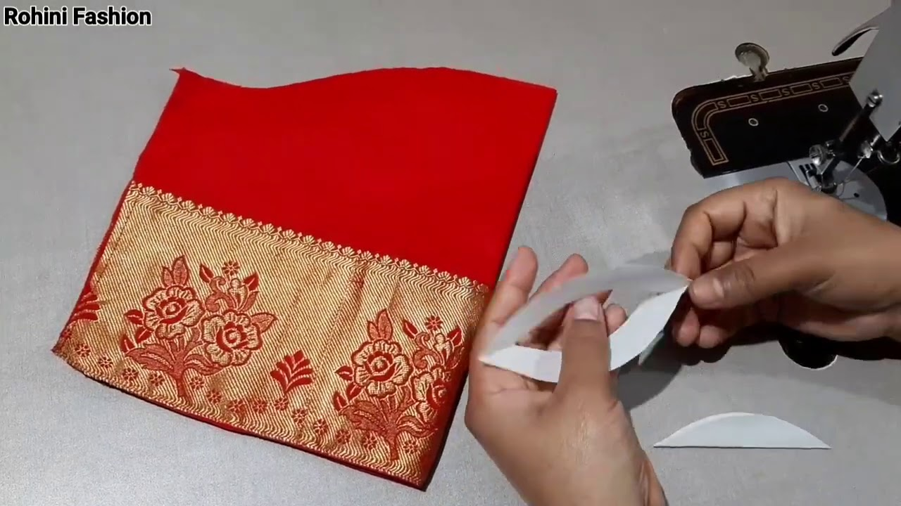 Simple and easy sleeve design|Simple and easy method of stitching