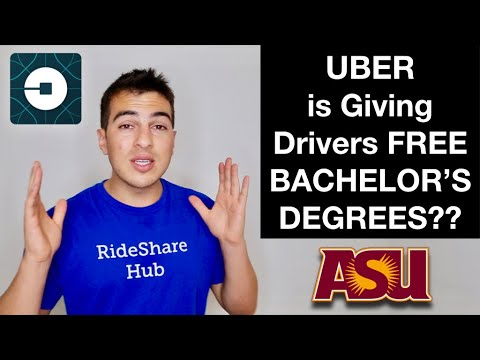 Uber is Giving Drivers Free Bachelor's Degrees!