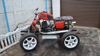 самодельный Квадроцикл 4х4 из Мотоцикла ИЖ