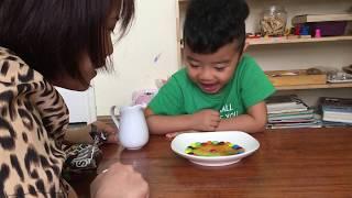 Zon Làm Thí Nghiệm CỰC VUI với kẹo M&M Sắc Màu Siêu Hấp Dẫn #zonvlog