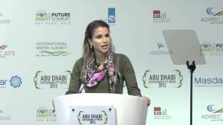 IWS 2013 opening speech- Her Majesty Queen Rania Al Abdullah of Jordan