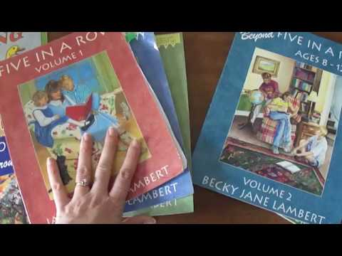 Five In A Row Homeschool Curriculum overview & Lapbooks