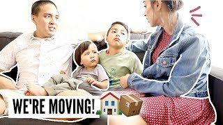 TELLING OUR KIDS WE'RE MOVING... (MILITARY PCS) | Mel and Shane