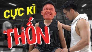 EP 59: Cho ông anh thử Tập Chân và Cái Kết ?  First Lives  An Nguyen Fitness