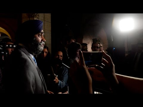 Defence Minister Harjit Sajjan apologizes for Afghanistan battle claim