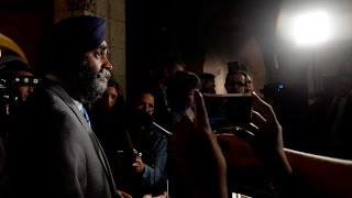 Defence Minister Harjit Sajjan apologizes for Afghanistan battle claim
