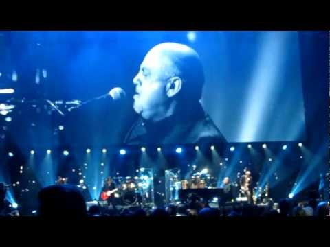 Billy Joel - New York State of Mind - 12.12.12 Concert MSG