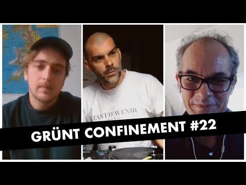 Youtube: Grünt Confinement #22 avec DJ Pone, Mothas et Peter Szendy