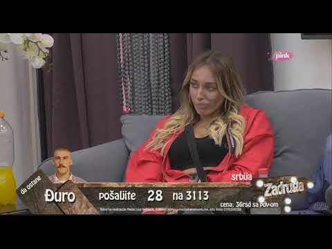 Zadruga 2 - Suočavanje Moskve i Lazara - 23.09.2018.