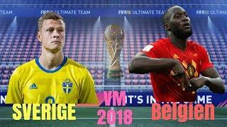 Sverige mot Belgien! SLUTSPEL (VM 2018) [FRV TV]