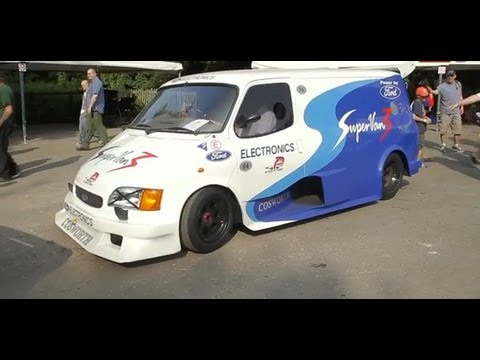 What's it like to tear up the Goodwood hill in a Ford Supervan?