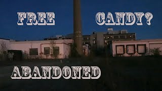 (FREE CANDY) OVERNIGHT CHALLENGE Abandoned haunted Clown Candy Factory
