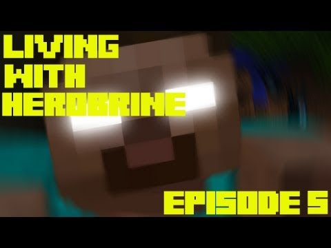 Living with Herobrine. Episode 5. Poop time is fun time?