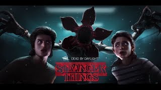 REACCIONANDO A STRANGER THINGS EN DEAD BY DAYLIGHT ! | NUEVO KILLER, Y SURVIVORS DE LA SERIE