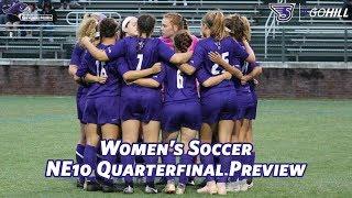 Women's Soccer NE10 Playoffs Quarterfinal Preview