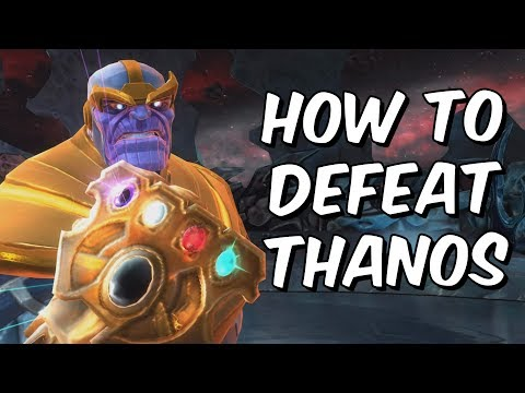 How To Defeat Infinity Gauntlet Thanos - Indepth Guide Part [2/2] - Marvel Contest Of Champions