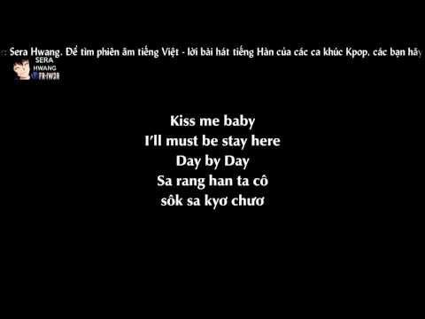 [Phiên âm tiếng Việt][Lyrics Video] Day by day - T-ara