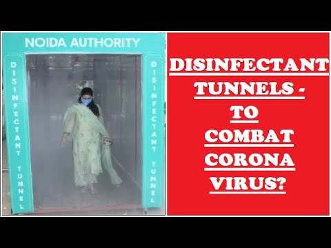 Disinfectant Tunnel - Are They Safe?