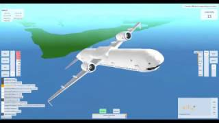 How not to fly a plane in roblox/breaking the game