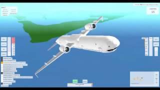 Como não pilotar um avião em Roblox/quebrando o jogo