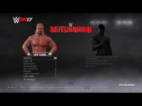 WWE 2K17 | Full Roster + Arenas