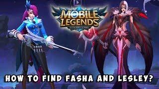 WHERE TO FIND FASHA & LESLEY ON ORIGINAL SERVER? | Mobile Legends: Bang Bang