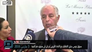 مصر العربية | مسؤول تونسي سابق: الاتفاقيات مع الاتحاد الأوروبي لم تكن في مستوى دعم التنمية