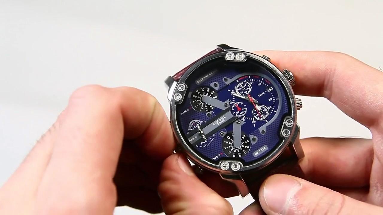de2e08f6def8 Часы Diesel Brave. Заводская копия - YouTube