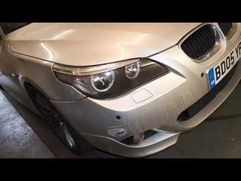 BMW Headlight restoration!! OMG!! What a difference!!