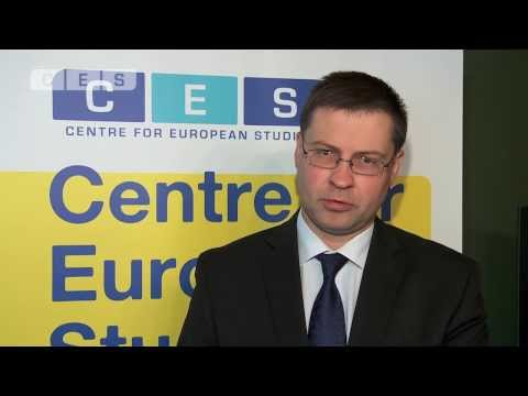 EIF 2013 : Ideas in Motion - Prime Minister Valdis Dombrovskis ...