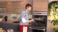 Jauheliha-fetajuustokääröt ja kirpeä kastike