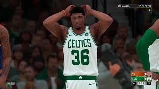 NBA 2K18 Knicks v Celtics #1
