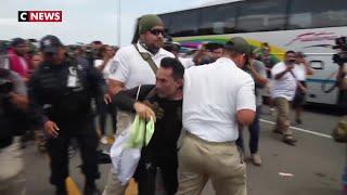 Mexique : un millier de migrants retenus à la frontière