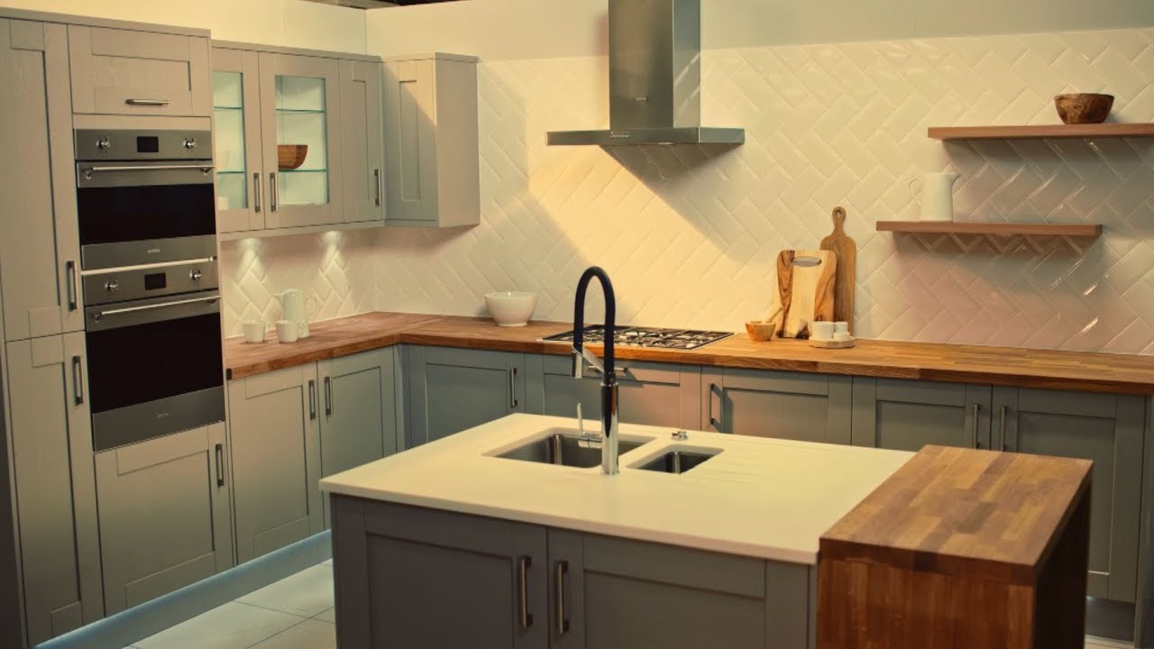 Discover Our New Range Of Kitchens At Homebase YouTube