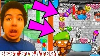 BTD Battles - How to win? Just keep the pressure up!
