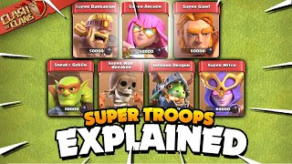All 7 Super Troops Explained (Clash of Clans)