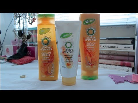 Herbal Essences Honey I'm Strong Line Review