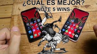 Xiaomi Note 5 vs Huawei P20 Lite : Cual es el mejor equipo? (note 5)  México!