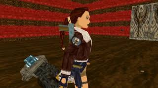 Tomb Raider: Fake Dagger (Niveles de autor). Nivel 6: Monastery Under the Ground (1/1)