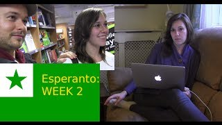 Week 2 learning Esperanto & 1st spontaneous chat!
