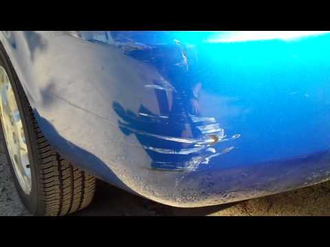 how to fix deep scratches on car plastic