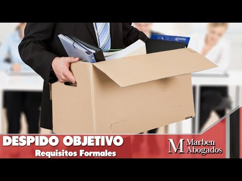 Despido Objetivo Requisitos Formales - INFORMACIÓN DE VALOR