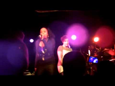 Rah Digga live ft. Eternia- The BBQ live at Ladies First