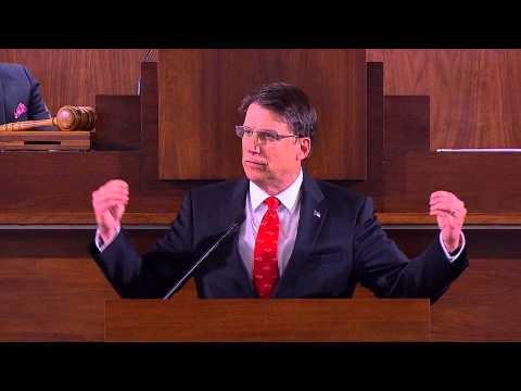 Governor Pat McCrory's 2015 State of the State Address