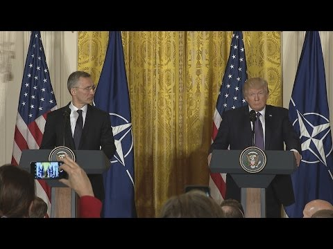 President Trump Holds a Joint Press Conference with Secretary General Stoltenberg