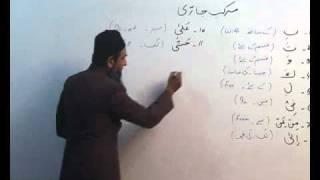 Arabi Grammar Lecture 16 Part 06  عربی  گرامر کلاسس
