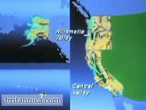 United States Pacific Region (Britannica.com)