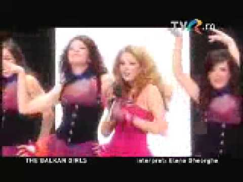 Elena Gheorghe - The Balkan Girls (eurovision 2009 Romania winner)