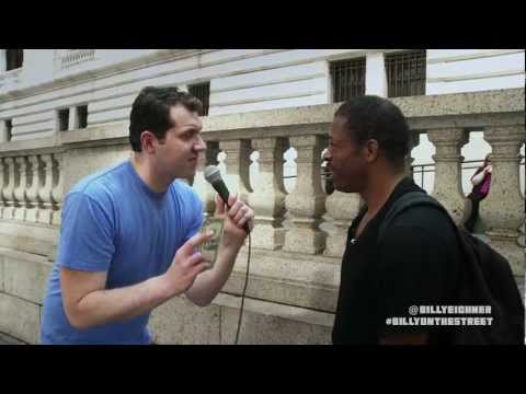 Billy on the Street: Lightning Round (Name a Woman!)